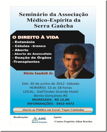 Banner Seminário médico espírita
